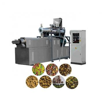 Dry Kibble Dog Food Extruder Machinery Plant 100kg/H - 6kg/H Big Range Puffing Snack