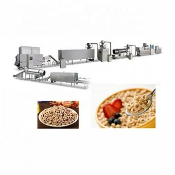 High nutritional Corn Flakes Processing Line with PLC Control System