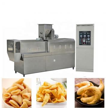 Snack extruder machine price commercial corn puffs machine and packaging