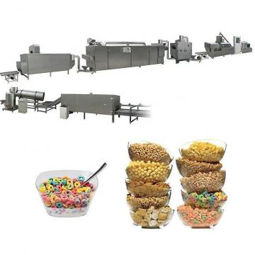 Fully Automatic Corn Chip Making Machine , Small Corn Flakes Processing Line