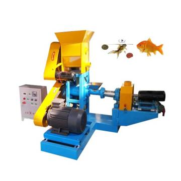 Large Capacity Floating Fish Feed Extruder Machine with Double Screw