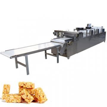 Energy Saving Chocolate Cereal Bar Making Machine / Snack Production Equipment