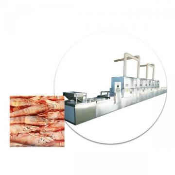 Conveyor belt Seafood Thawing Equipment / Chicken Mutton Beef Thawing Machine