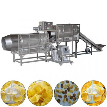 Breakfast cereal corn flakes process line/corn flakes equipment