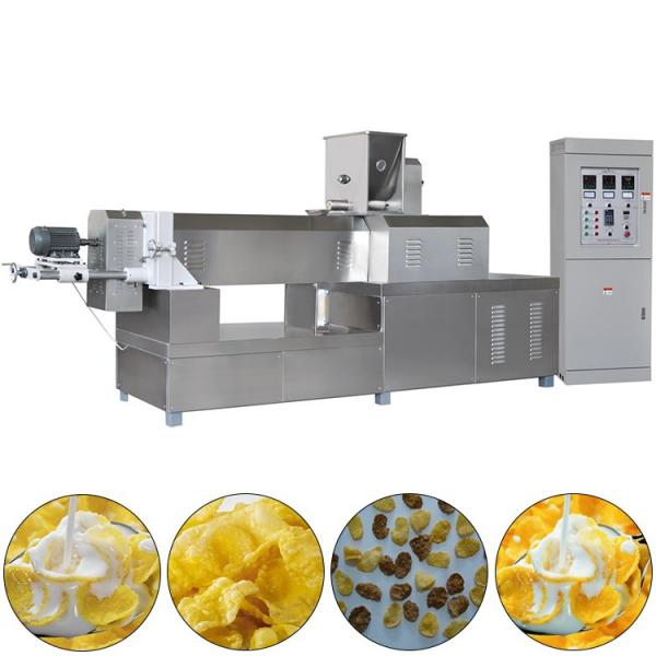 Moderate tasty auto breakfast cereal corn flake processing line