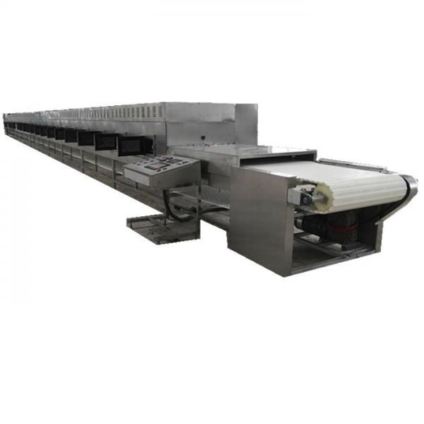 Belt Conveyor Tunnel Microwave Heating Equipment Tea Leaves Dryer No Thermal Inertia