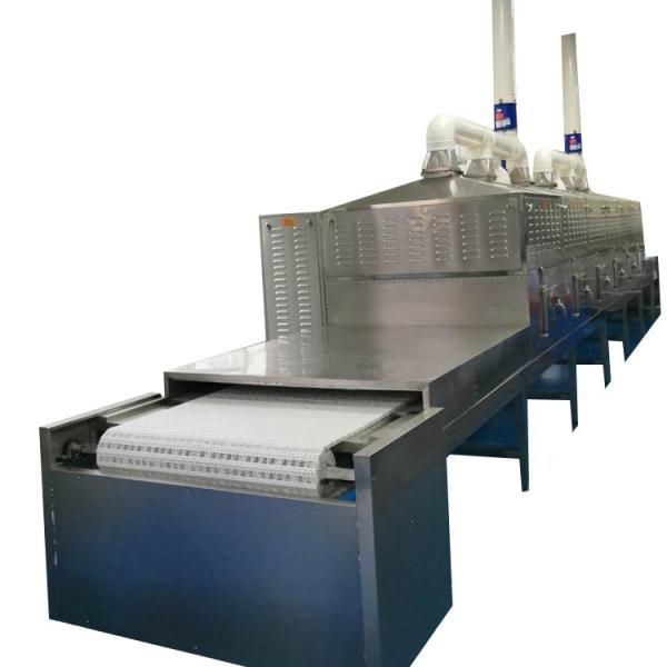 Stainless Steel Microwave Heating Equipment Flower Tea Dryer Fast Heating Speed