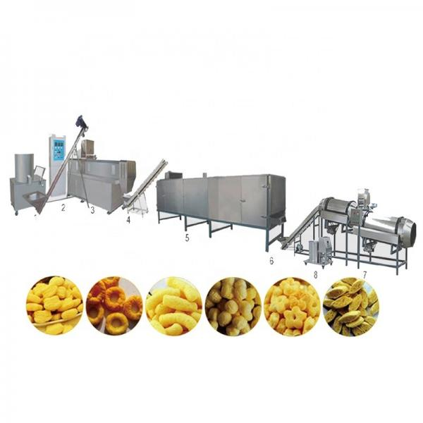 Stainless Steel Food Processing Machinery Corn Puffing Snack Extruder Machine