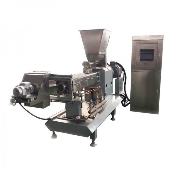 Various Production Models High Efficiency Low Noise Pet Food Extruder Machine